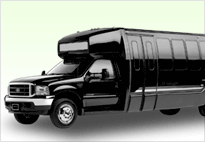 28 Passengers Party Bus Rental Concord