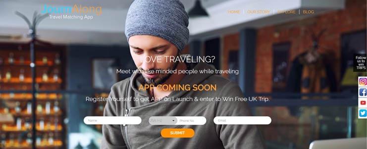 Journ Along Travel Matching App